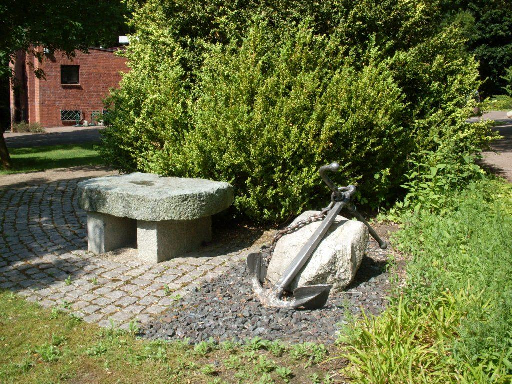 Der Maritime Gedenkgarten Friedhof Ahrensburg